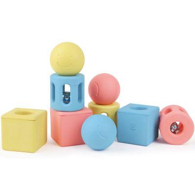 Blocs de construction hochets d'activités (9 pièces)  par Hape