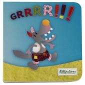 Mini livre Grrrrr Nicolas le loup - Lilliputiens