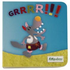 Mini livre Grrrrr Nicolas le loup