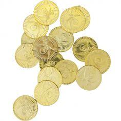 Lot de 24 pièces d'or Pirate