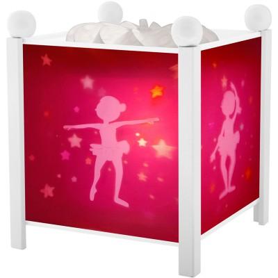 Lanterne magique Ballerines blanche  par Trousselier