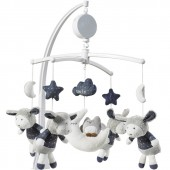 Mobile musical Merlin - Sauthon Baby Déco