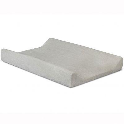 Housse de matelas à langer Deluxe gris clair (50 x 70 cm)
