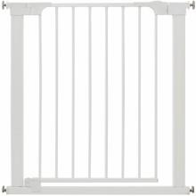 Barrière de sécurité par pression Two Way auto-close blanche  par BabyDan