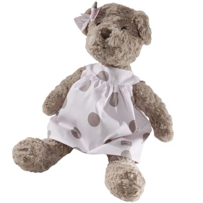 Peluche Mlle Louise l'ourse (25 cm) Absorba