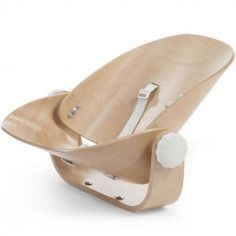 Transat Evolu Newborn naturel blanc pour chaise haute Evolu