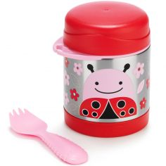 Thermos alimentaire Zoo coccinelle rouge (325 ml)