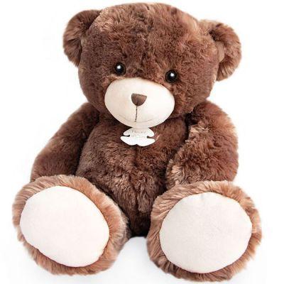 Peluche géante ours Bellydou marron (60 cm)  par Histoire d'Ours