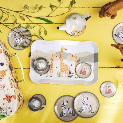 Sass /& Belle SAVANE SAFARI Kid/'s tea set
