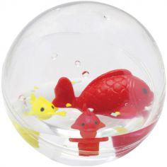 Jouet de bain bulle poissons