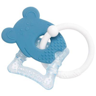 Anneau de dentition réfrigéré Souris bleu  par Nattou