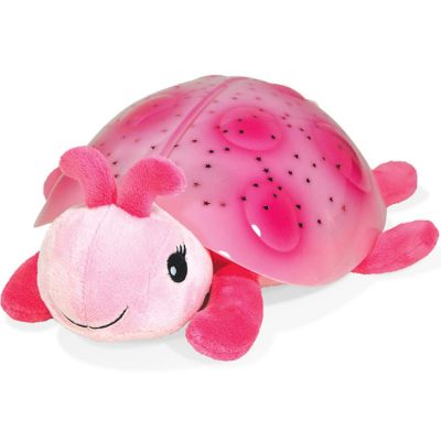 Veilleuse peluche coccinelle rose Cloud B