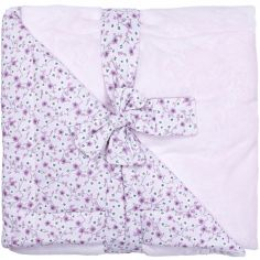 Couverture polaire Liberty rose Luxe Minky (70 x 100 cm)