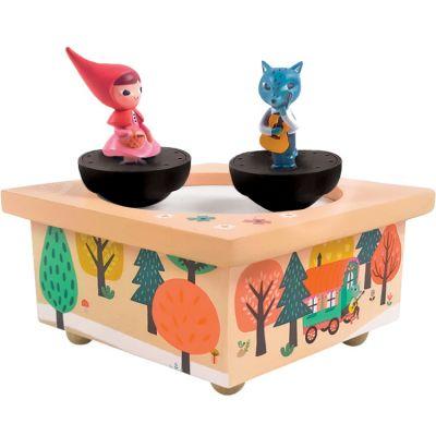 Boîte à musique magnétique Petit Chaperon Rouge  par Trousselier