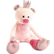 Peluche géante Rosette le cochon Happy Family (60 cm)  par Histoire d'Ours