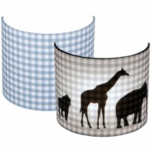 applique murale silhouettes animaux pois gris 20 x 24 cm par little dutch. Black Bedroom Furniture Sets. Home Design Ideas