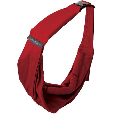 porte bb baby sling rouge minimonkey berceau magique. Black Bedroom Furniture Sets. Home Design Ideas