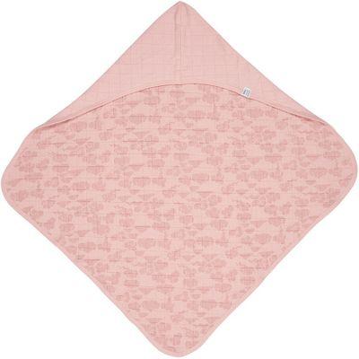Cape de bain Bubbler Solid Sensitive rose (90 x 90 cm)  par Lodger