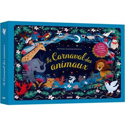 Livre en papiers découpés Le Carnaval des animaux  par Auzou Editions