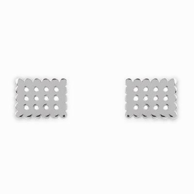 Boucles d'oreilles Mini Coquine cookie (argent 925°)  par Coquine