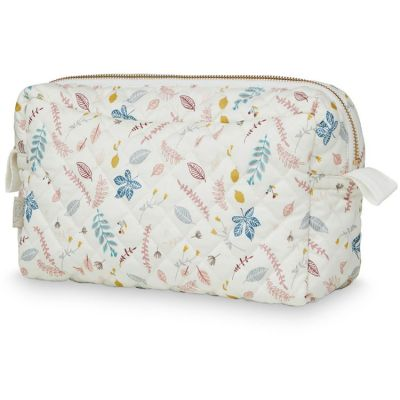 Trousse de toilette Pressed Leaves rose  par Cam Cam Copenhagen