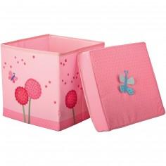 Siège cube Fleurs magiques