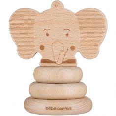 Jouet à empiler en bois Élidou l'éléphant Safari
