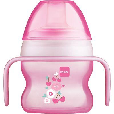 Tasse à bec souple fleur rose (150 ml)  par MAM