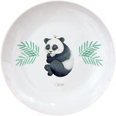 Assiette en porcelaine Panda (personnalisable)