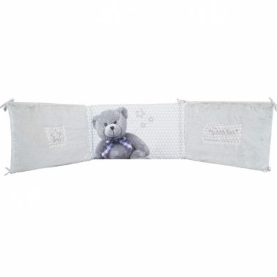 tour de lit adaptable my little bear pour lit 60 x 120 cm. Black Bedroom Furniture Sets. Home Design Ideas