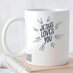 Mug Jesus Loves You