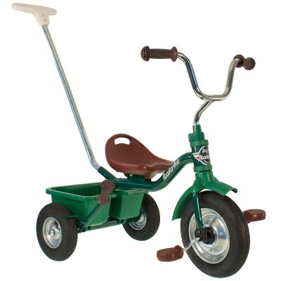 Tricycle Passenger avec panier arrière amovible vert  par Italtrike