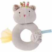 Hochet anneau gris Chamalo Les Pachats - Moulin Roty
