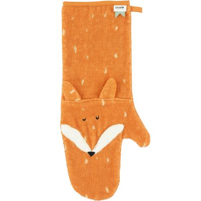 Gant de douche bébé renard Mr. Fox  par Trixie