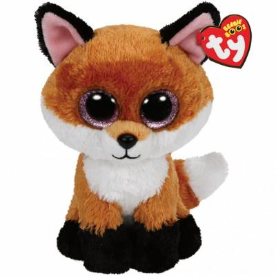 Peluche Beanie Boo's Slick le renard (23 cm) Ty