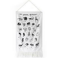 Décoration à suspendre en anglais The Animal Alphabet