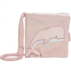 Livre bébé à suspendre Ocean pink