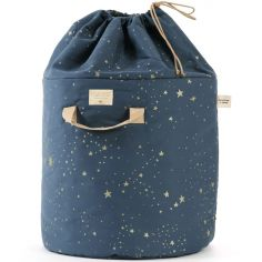 Sac à jouets Bamboo Gold stella Night blue (50 cm)