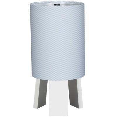 Lampe de chevet bleue Lazare  par Sauthon