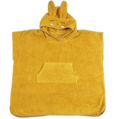 Poncho de bain Lapin moutarde