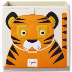 Cube de rangement Tigre (33,5 x 33,5 cm)