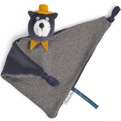 Doudou chat Alphonse Les Moustaches  par Moulin Roty
