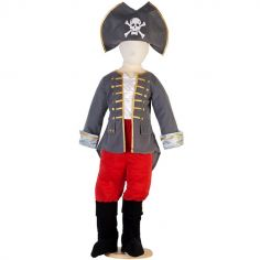 Déguisement capitaine pirate (3-5 ans)