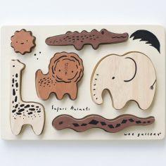 Puzzle à encastrer en bois Safari