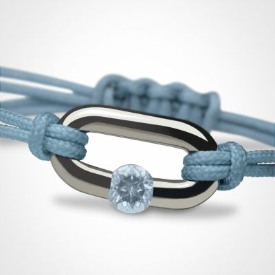 Bracelet Newborn Pierre précieuse ou fine (argent 925°)  par Mikado