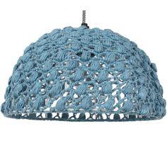 Suspension complète en crochet Ziggy bleu (diamètre 30 cm)