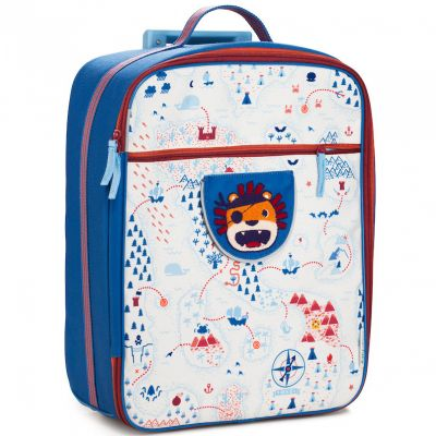 Valise trolley Jack le lion pirate  par Lilliputiens