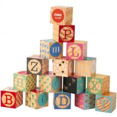 Cubes empilables Kubix Alphabet (16 cubes)