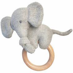 Anneau de dentition en bois Tembo l'éléphant