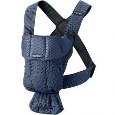 Porte bébé Mini tissu Mesh 3D bleu marine